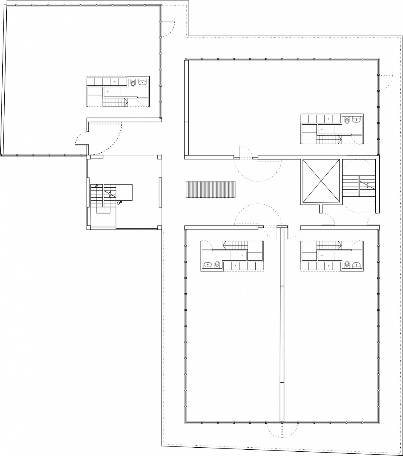 Ist Floor Plan in Studio Mode